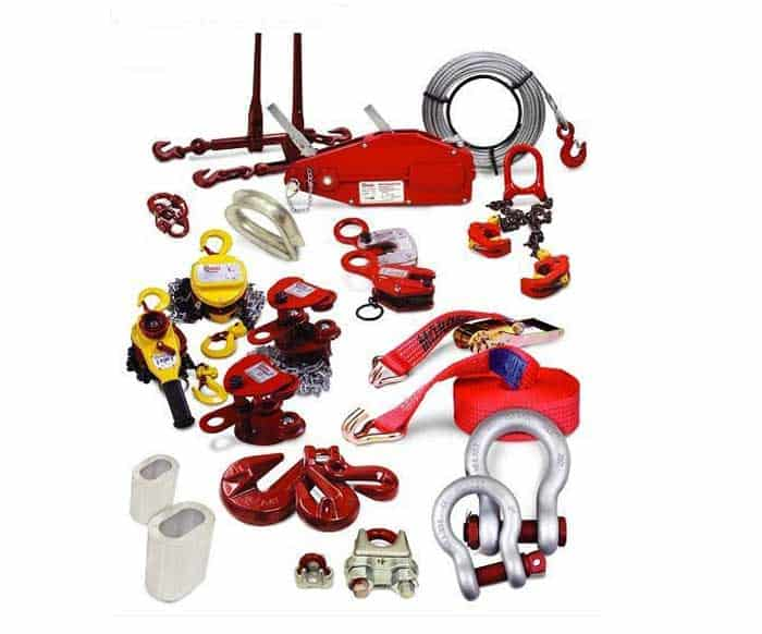 Hooks, Clevis Hooks, Safety belts, Wire ropes, Winches, Chain blocks and pulley in Muscat, Oman