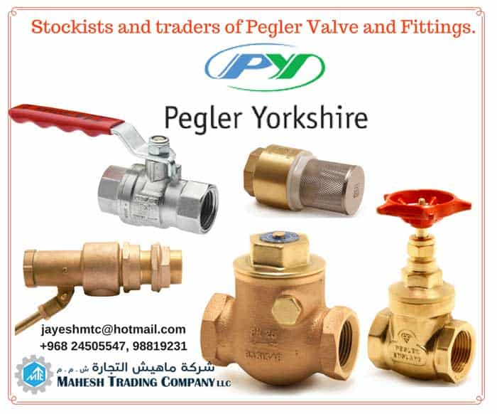 Ball valve, Gate valves, NRV, Strainers in Oman
