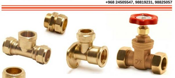 Pegler Compression fittings available in Oman.
