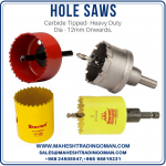 Hole saw in oman tools in oman