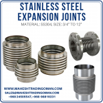 ss expansion joint and expansion bellow in oman