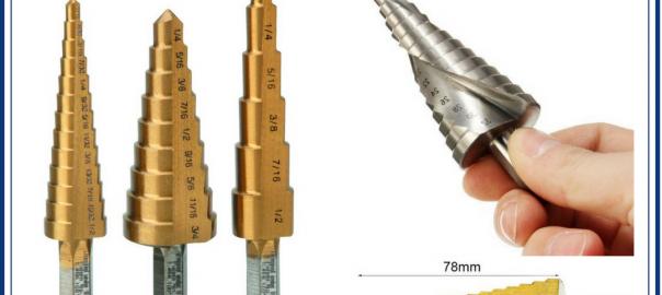 step drill bits, step drill muscat