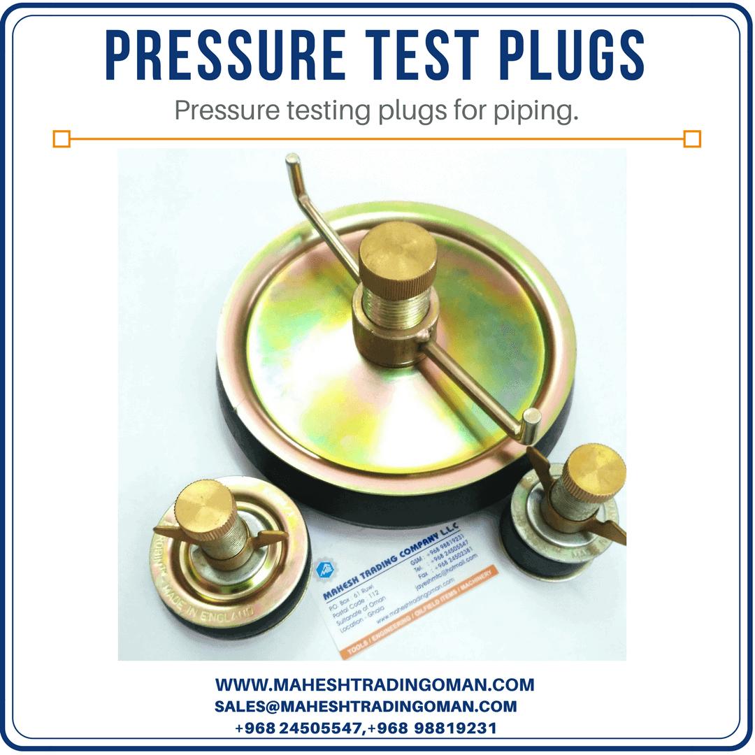 pressure test plug, test plug,