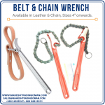Belt chain wrench