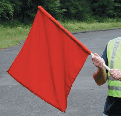 red safety flag oman