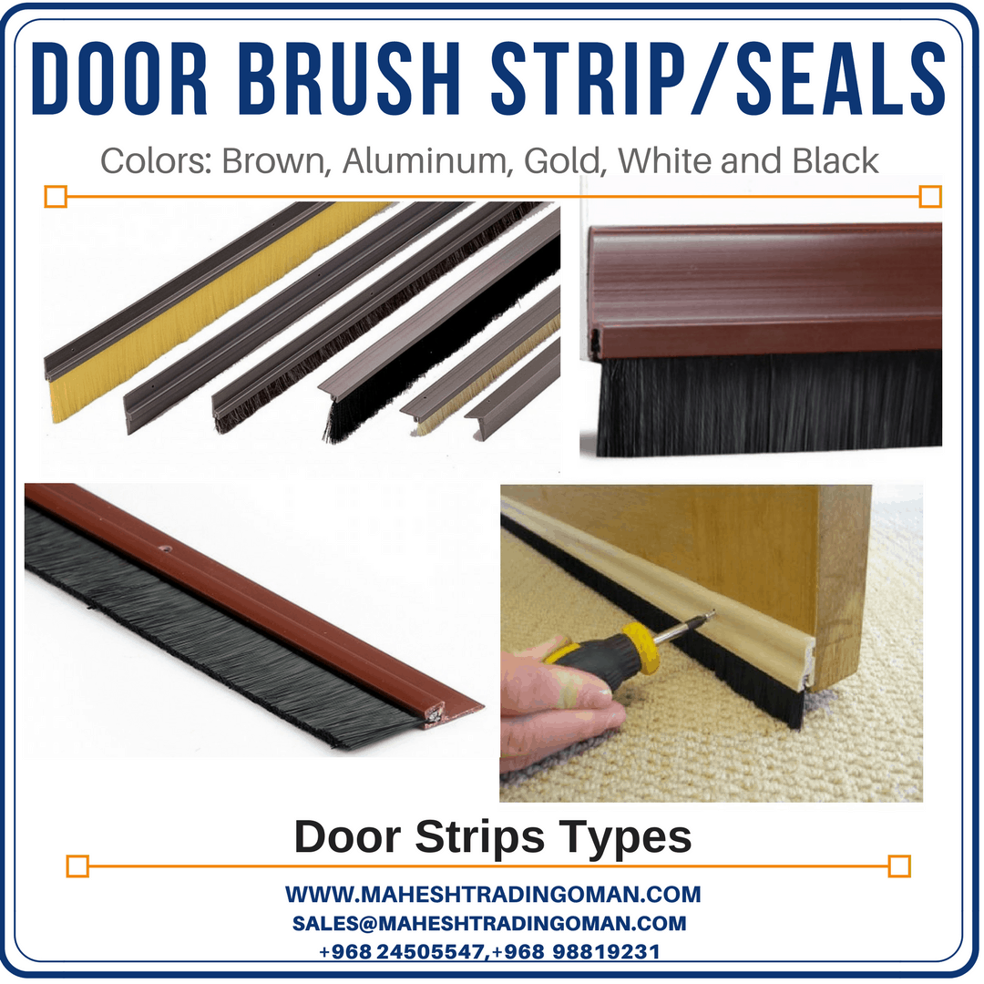 door brush strip seal