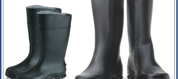 Rubber Gum Boots for Protection against chemicals.